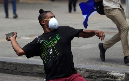 تظاهرات فى هندوراس (7)
