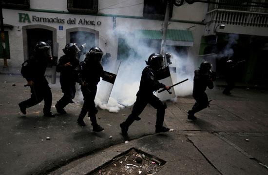 تظاهرات فى هندوراس (1)