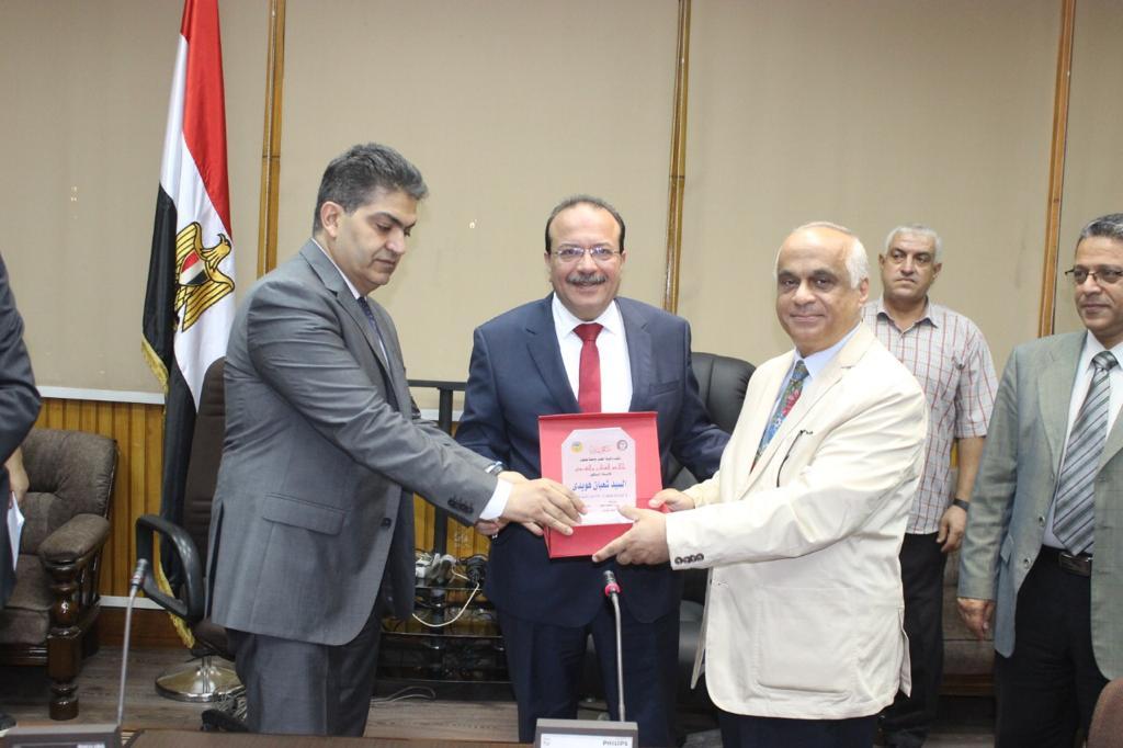 تكريم رؤساء كلية الطب بجامعة طنطا (2)