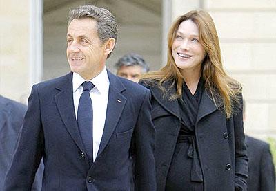 ساركوزى وكارلا
