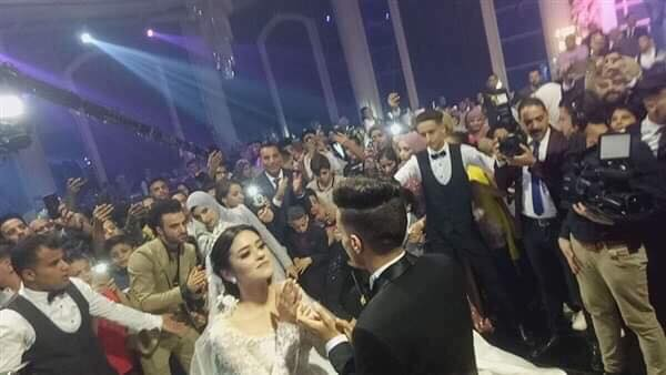 اخبار الرياضة – صور.. مصطفى فتحي يحتفل بزفافه وسط الأهل والأصدقاء