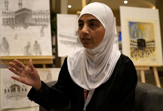 37185-رنا-فرج-زوجة-كامل-درويش-إمام-مسجد-كرايستشيرش-النيوزيلندي-وأحد-ضحايا-الهجوم-الارهابى