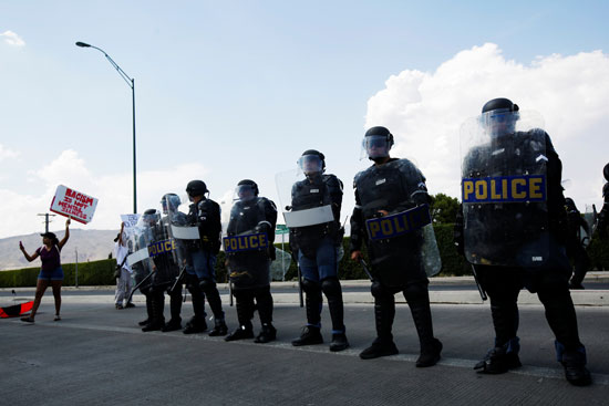 الشرطة-تتاهب-للمظاهرات-المناهضة-لزيارة-ترامب-للمدينة