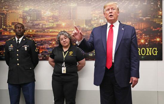 ترامب-يتحدث-للاعلام