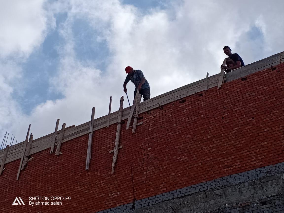 ايقاف اعمال بناء 3 عقارات مخالفة  (1)