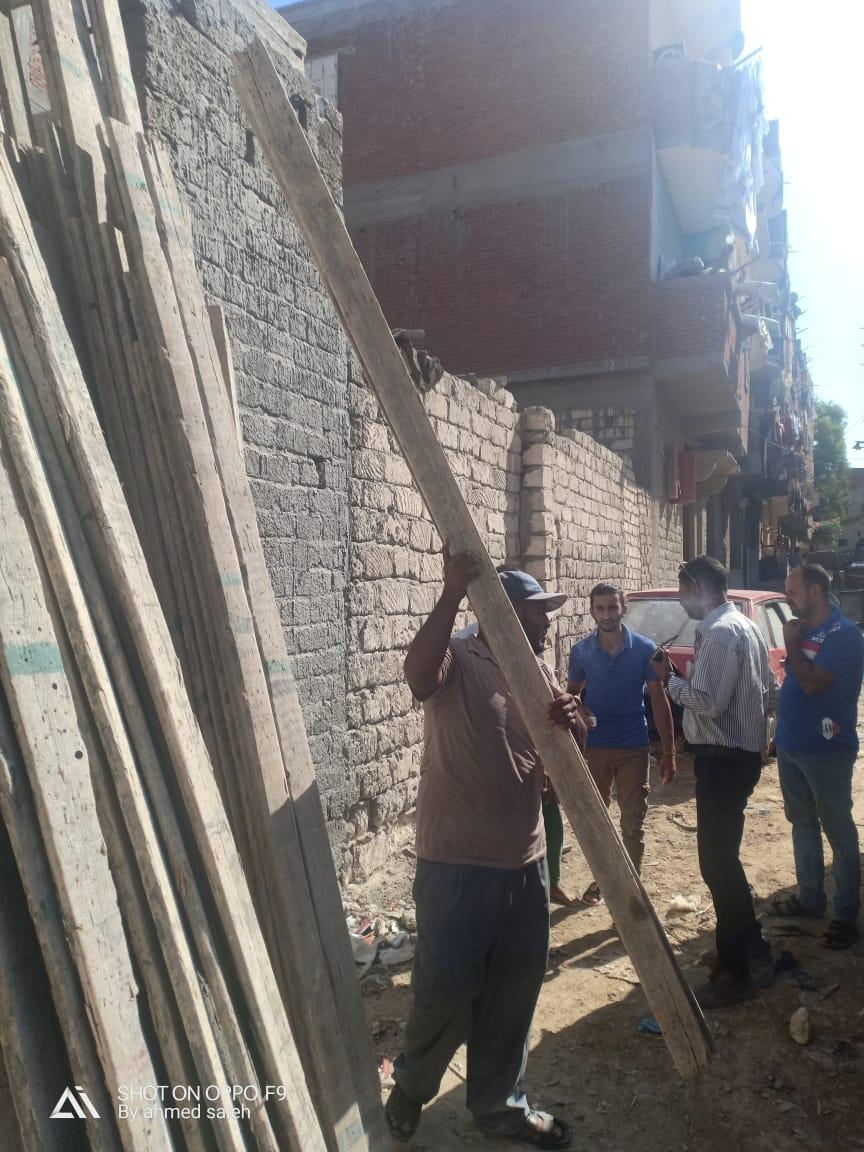 ايقاف اعمال بناء 3 عقارات مخالفة  (3)