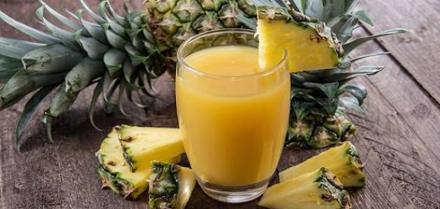 عصير الاناناس