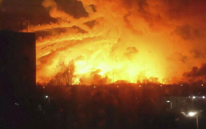 انفجارات جديدة تهز مستودع ذخيرة بسيبيريا