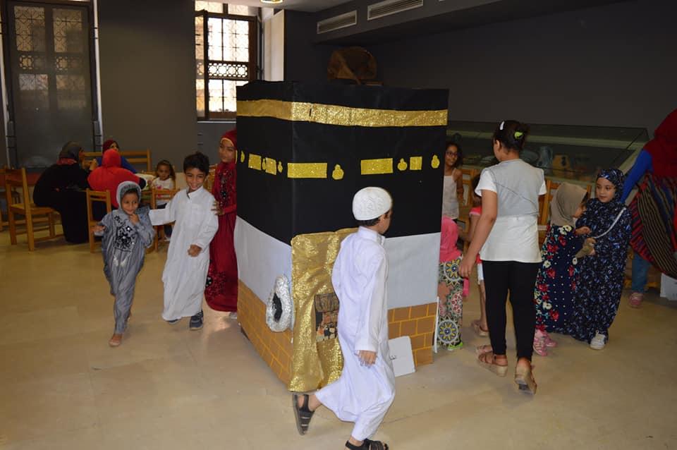 ورش المحاكاة فى متحف الفن الإسلامى (3)