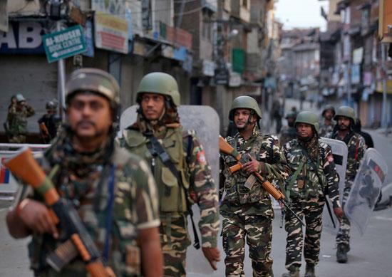 الجيش الهندى فى شواره كشمير