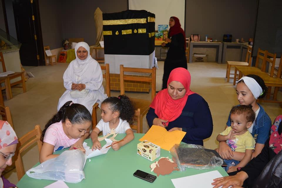 ورش المحاكاة فى متحف الفن الإسلامى (13)