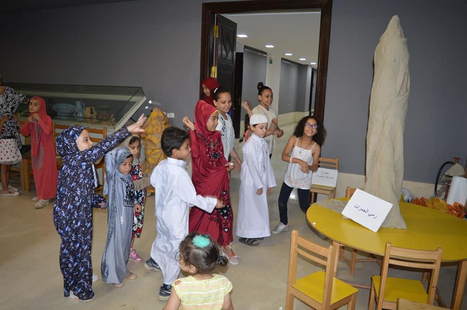 ورش المحاكاة فى متحف الفن الإسلامى (9)