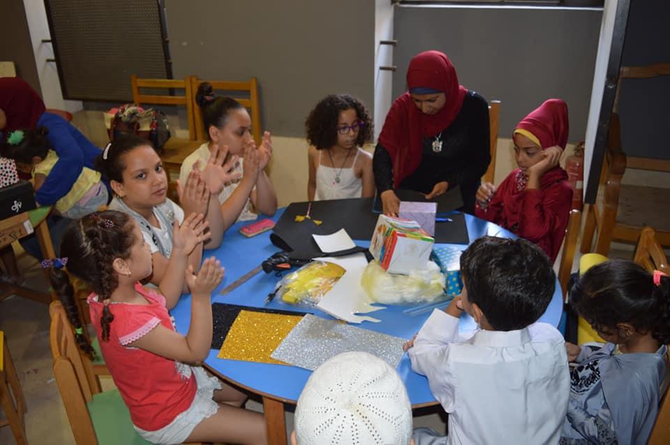 ورش المحاكاة فى متحف الفن الإسلامى (2)