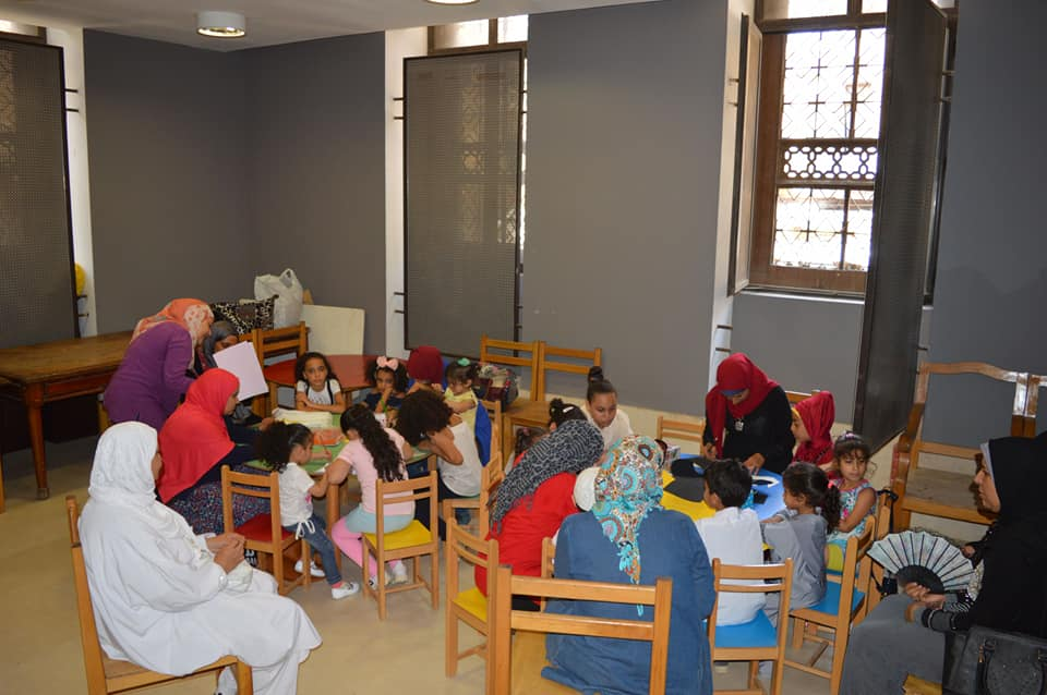 ورش المحاكاة فى متحف الفن الإسلامى (10)