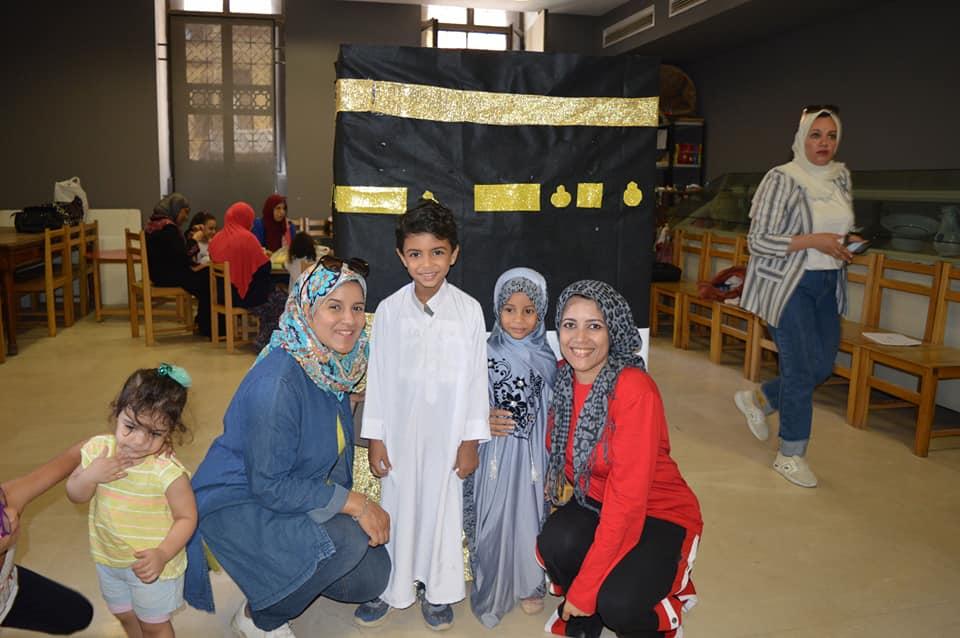 ورش المحاكاة فى متحف الفن الإسلامى (7)