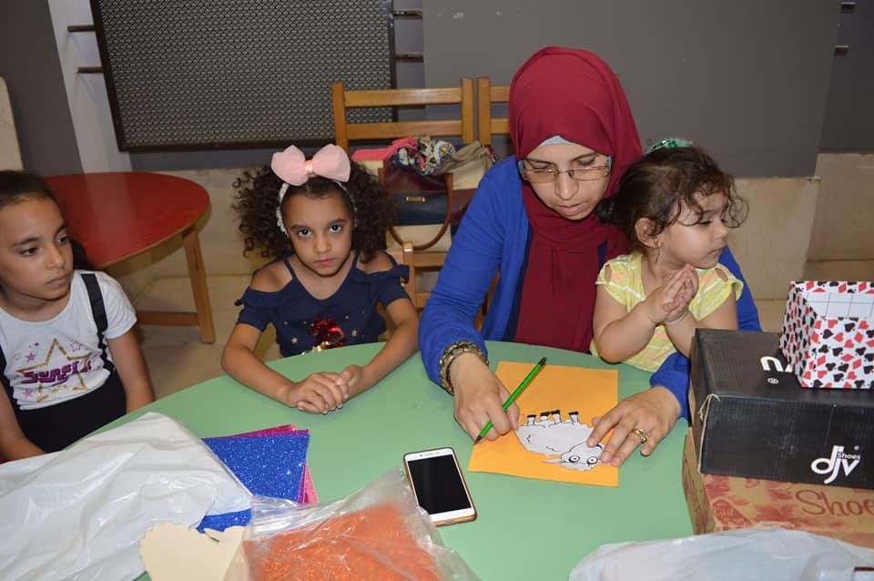 ورش المحاكاة فى متحف الفن الإسلامى (5)