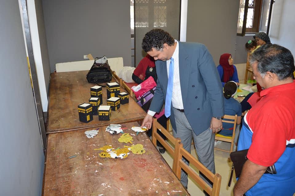 ورش المحاكاة فى متحف الفن الإسلامى (12)