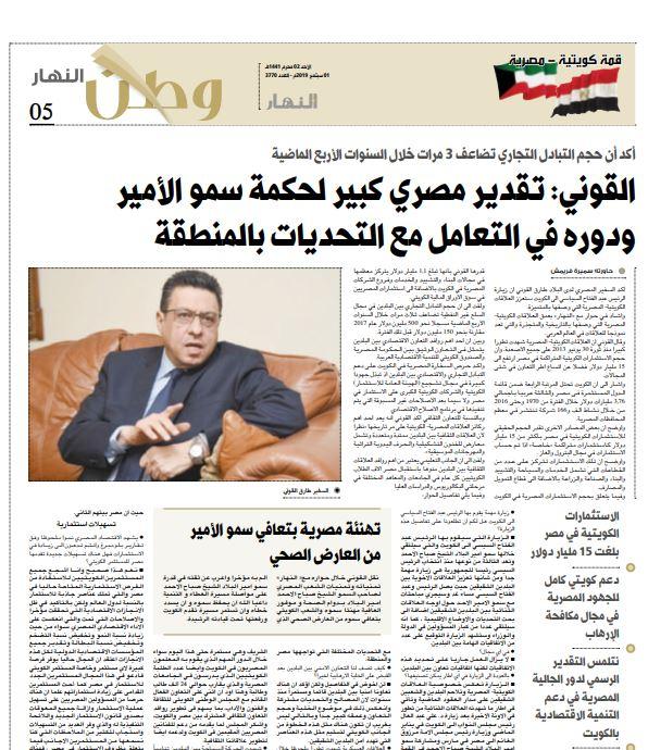 حوار السفير المصري