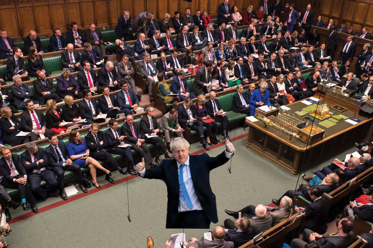 بوريس جونسون يعلق أعمال البرلمان البريطانى