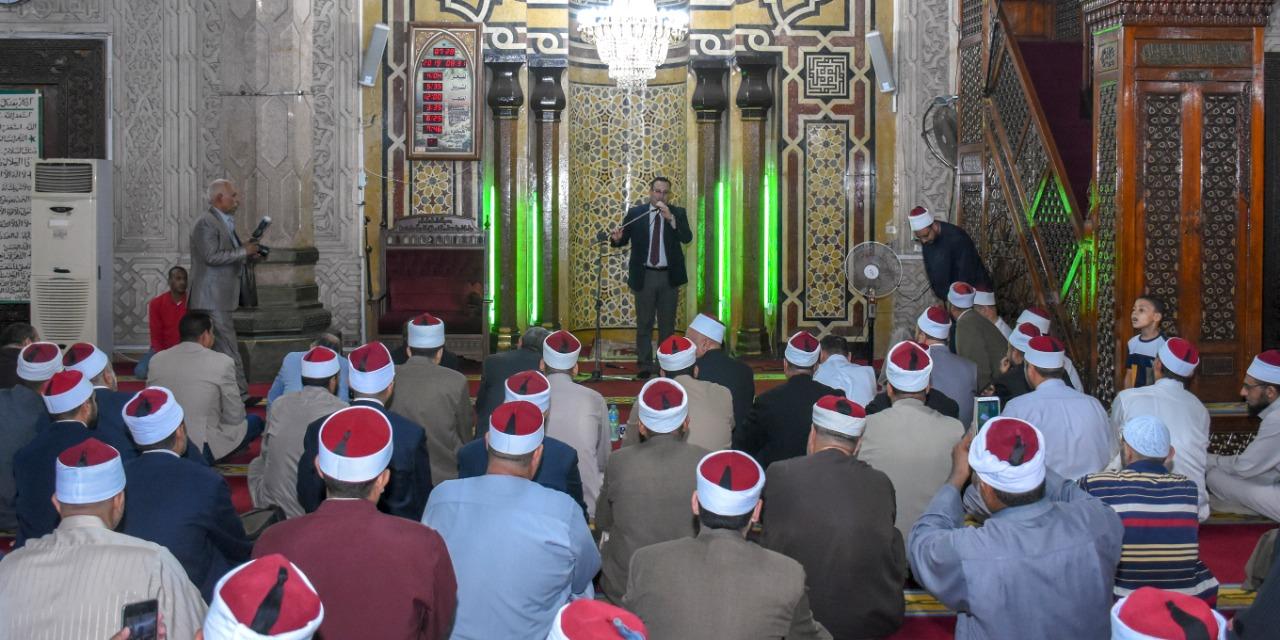 محافظ الإسكندرية يشارك في إحتفالية الأوقاف (5)