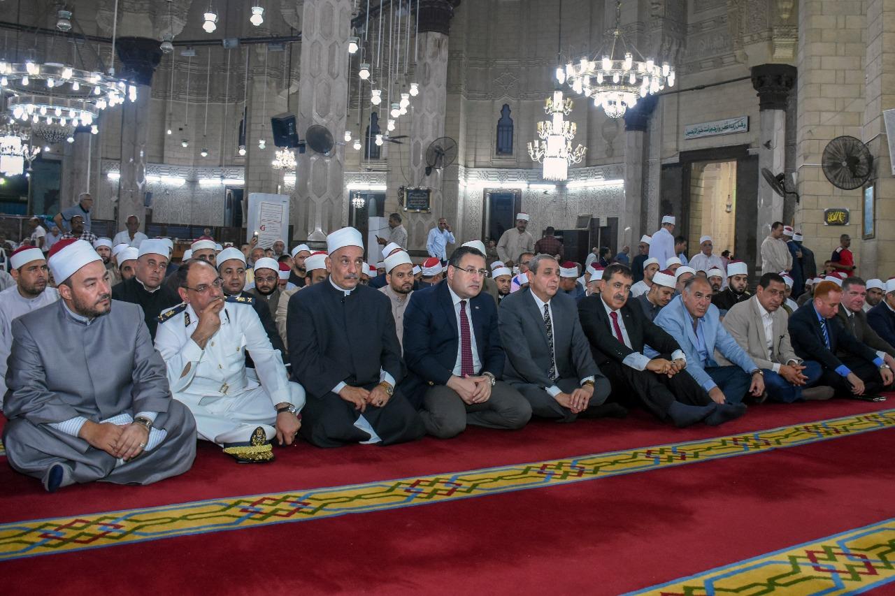 محافظ الإسكندرية يشارك في إحتفالية الأوقاف (4)