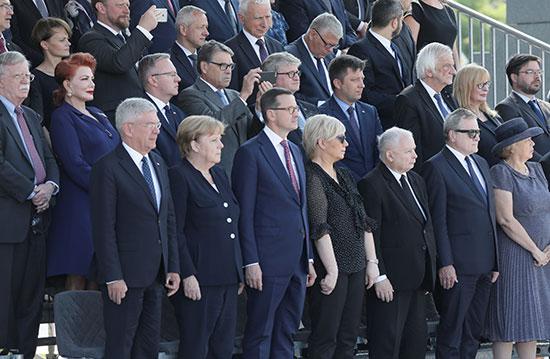 جانب من قادة العالم