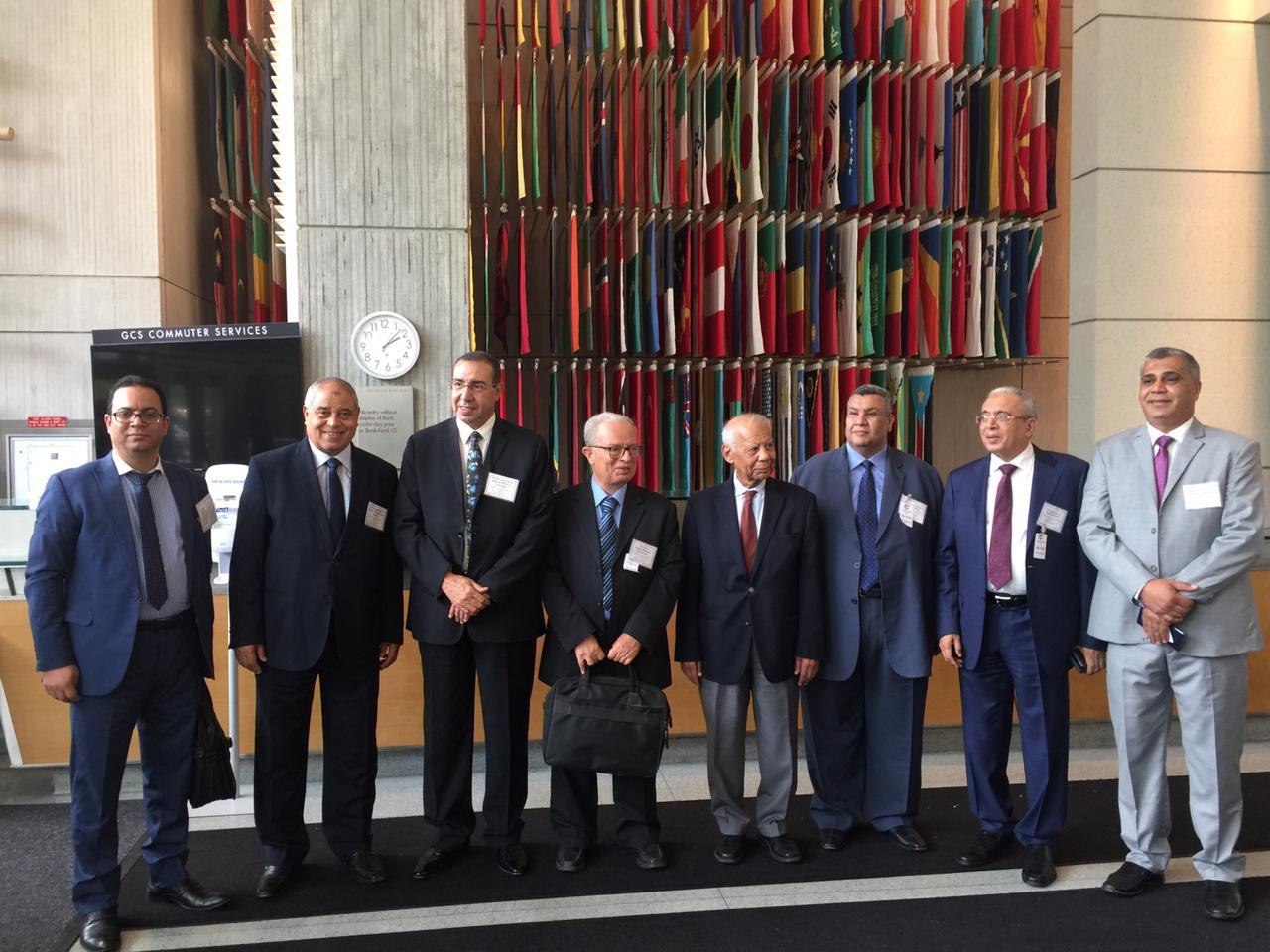 المدير التنفيذى لصندوق النقد الدولى ووفد لجنة الخطة والموازنة  (7)