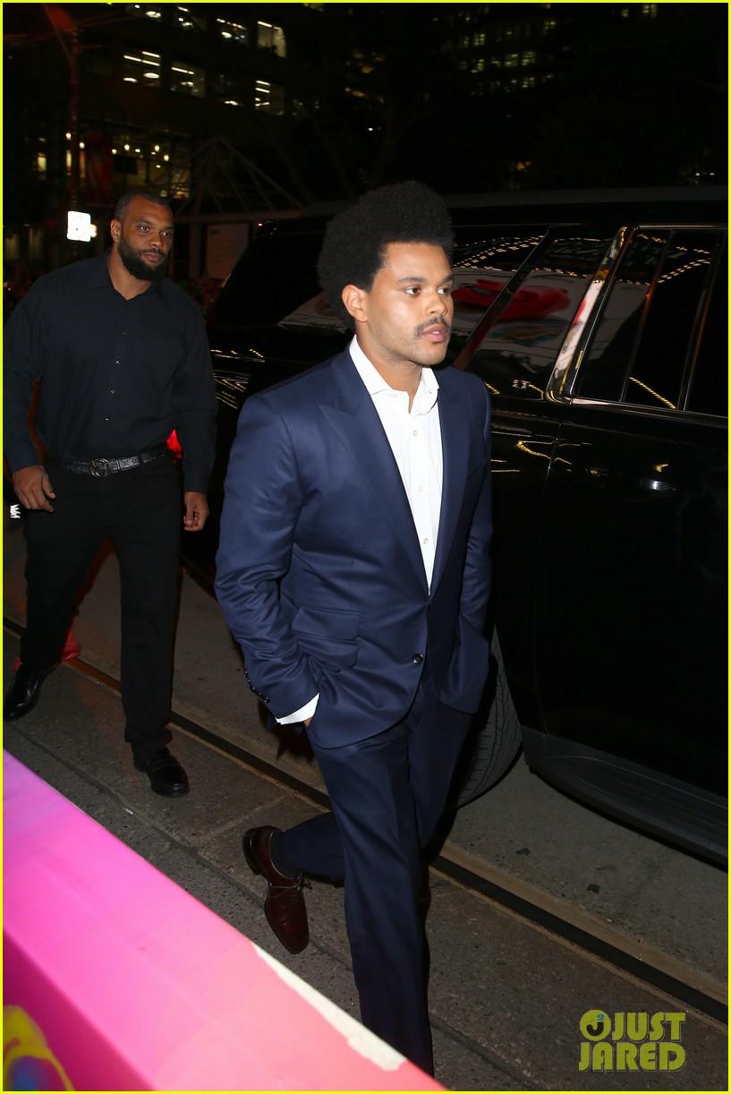 The Weeknd في مهرجان تورنتو السينمائي (1)