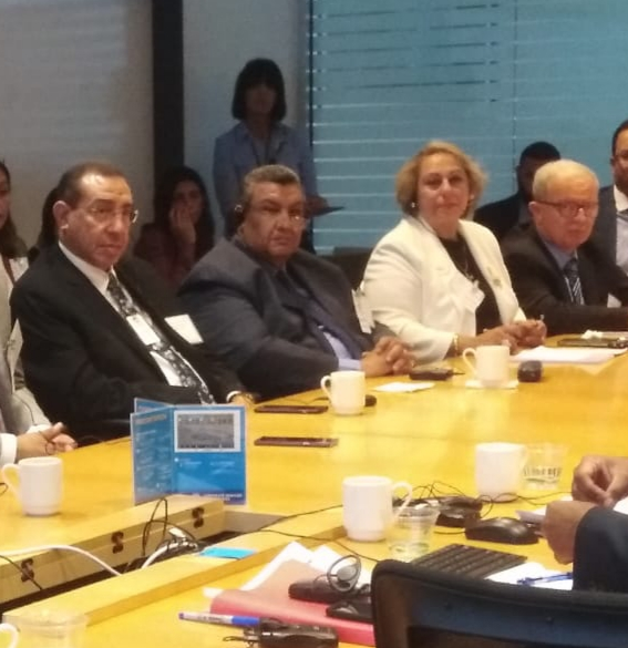 المدير التنفيذى لصندوق النقد الدولى ووفد لجنة الخطة والموازنة  (5)