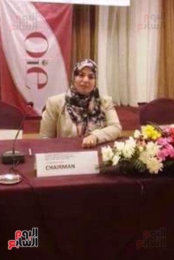 الدكتورة--نجلاء-راضوان--رئيس-محطة-زهراء-الخيول