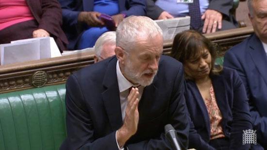 جيريمي كوربين زعيم حزب العمل البريطاني المعارض