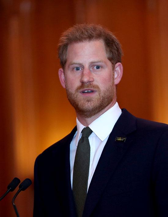 الأمير هارى يشارك فى الاحتفالية