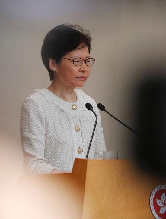 زعيمة هونج كونج