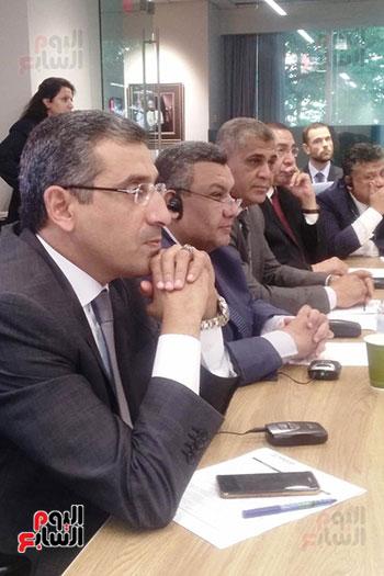 وفد لجنة الخطة والموازنة بمجلس النواب مع مسئولى DAI (2)