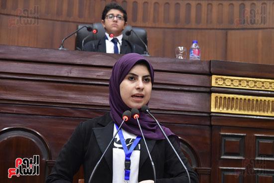 أعمال الجلسة الختامية لبرلمان المدارس والمعاهد الأزهرية  (6)