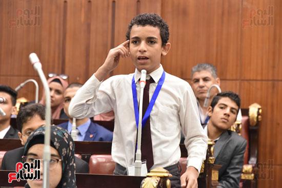 أعمال الجلسة الختامية لبرلمان المدارس والمعاهد الأزهرية  (8)