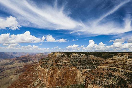مناظر خلابة لجراند كانيون في أريزونا الأمريكية (6)