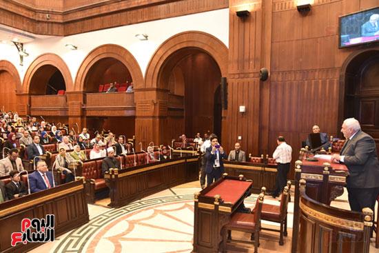 أعمال الجلسة الختامية لبرلمان المدارس والمعاهد الأزهرية  (15)
