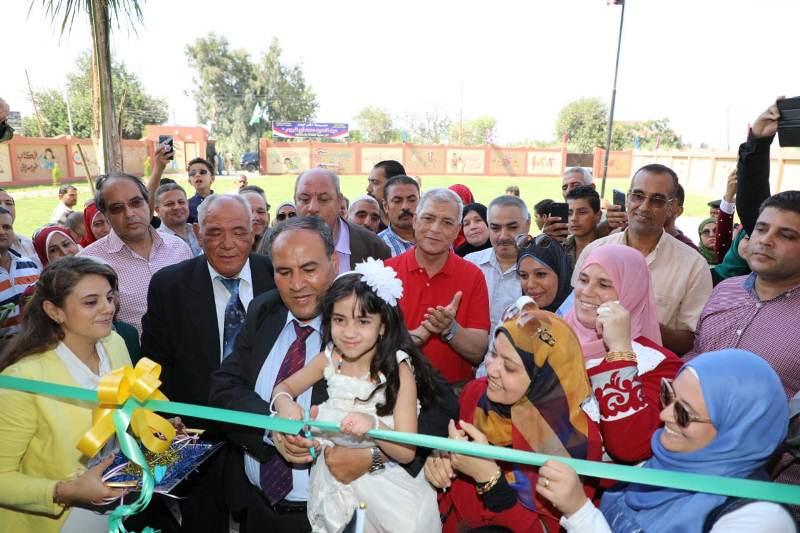 افتتاح مدرستين بالمنوفية (4)