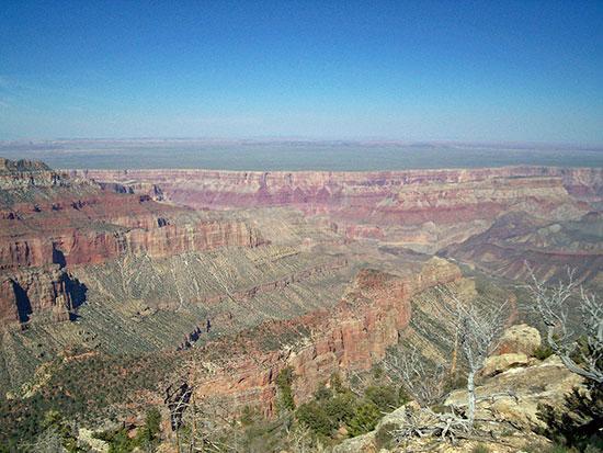 مناظر خلابة لجراند كانيون في أريزونا الأمريكية (2)