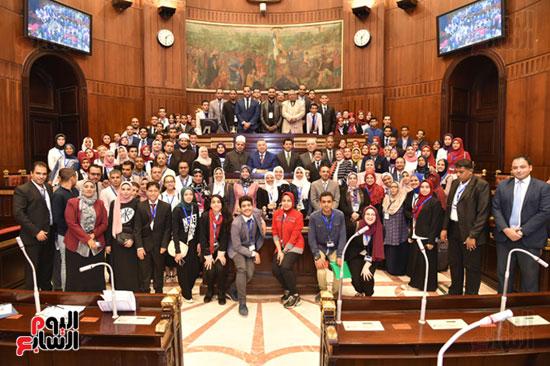 أعمال الجلسة الختامية لبرلمان المدارس والمعاهد الأزهرية  (17)
