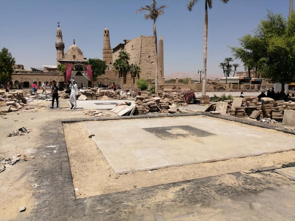 رئيس مدينة الأقصر يعلن تفاصيل تطوير ميدان أبوالحجاج الأقصري (3)