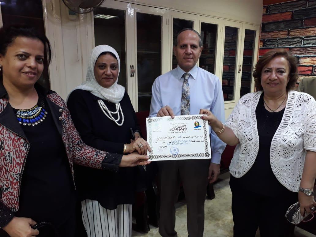 تكريم مكتب الخدمة الإجتماعية بالمدرسية (2)