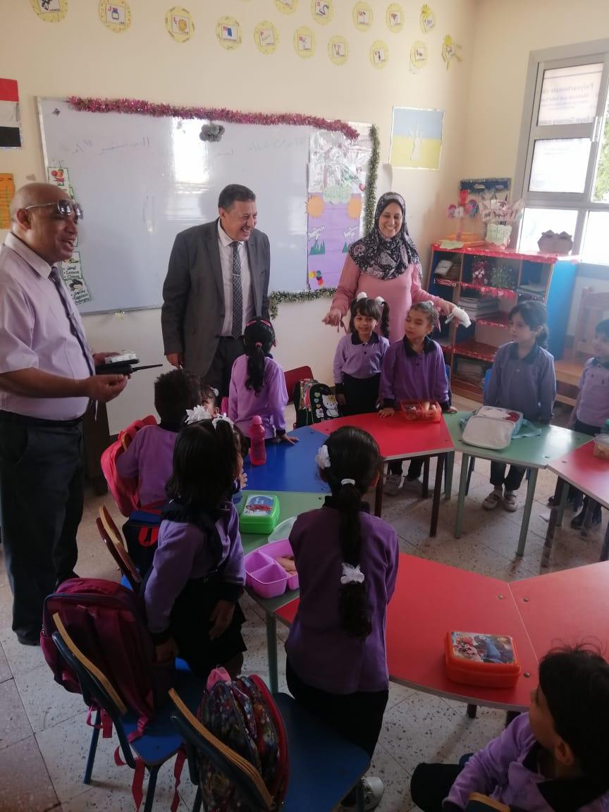 جولة وكيل تعليم الإسكندرية داخل المدارس (1)