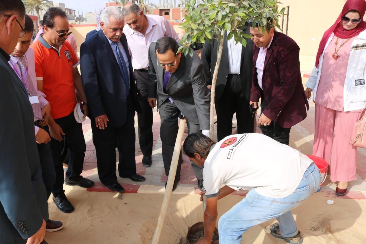جولة محافظة شمال سيناء على المدارس (1)