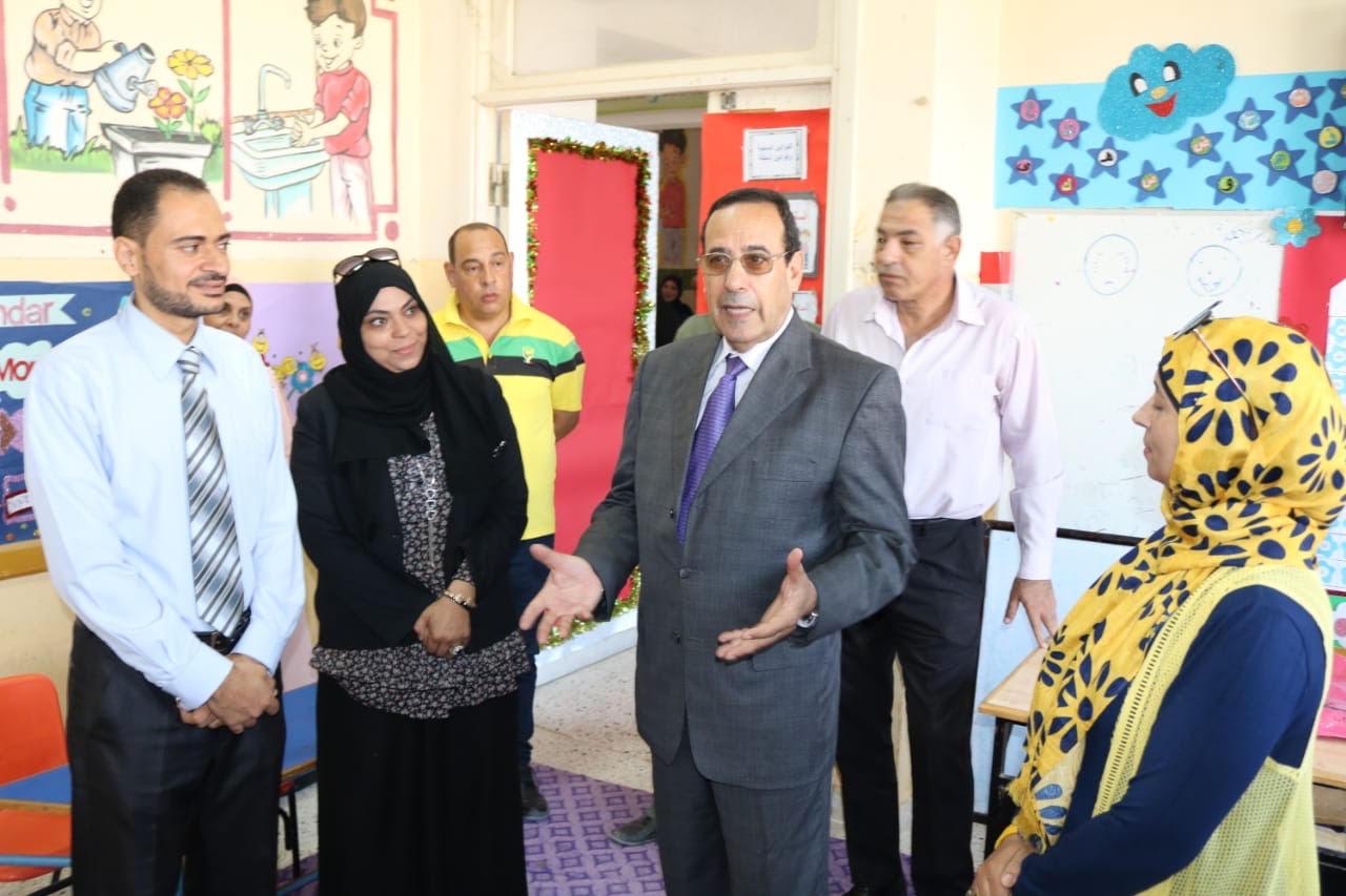 جولة محافظة شمال سيناء على المدارس (2)