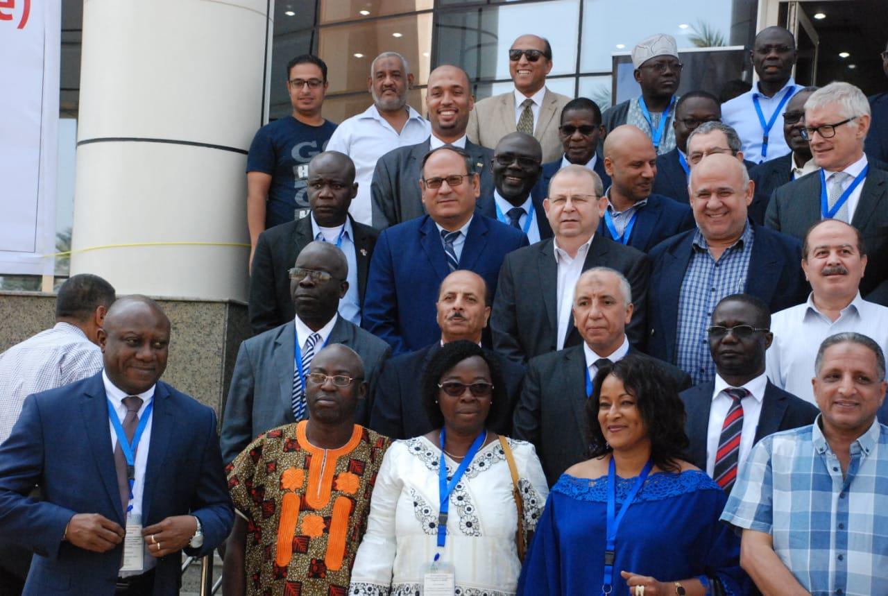 اجتماعات مركز الارز الافريقيى (2)