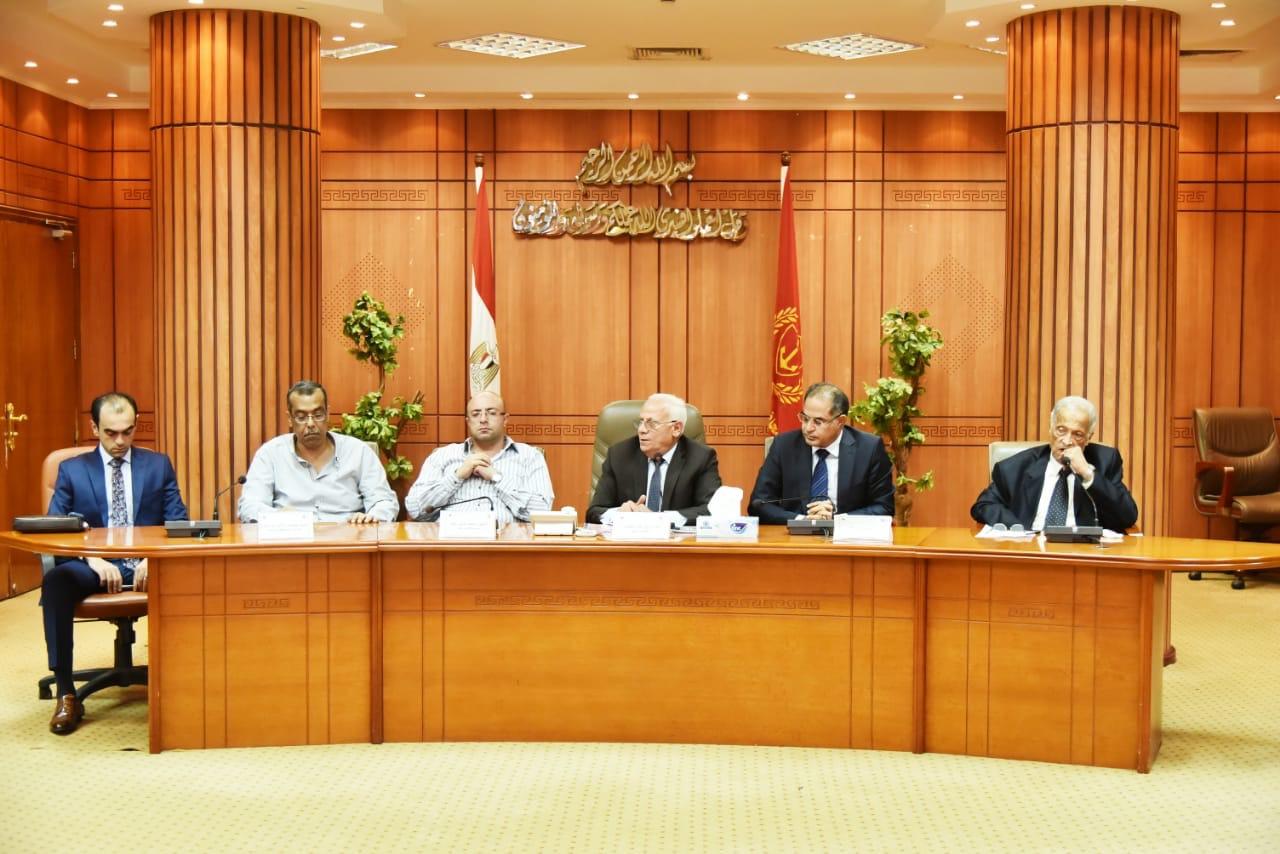 محافظ بورسعيد وأعضاء حزب الوفد (2)
