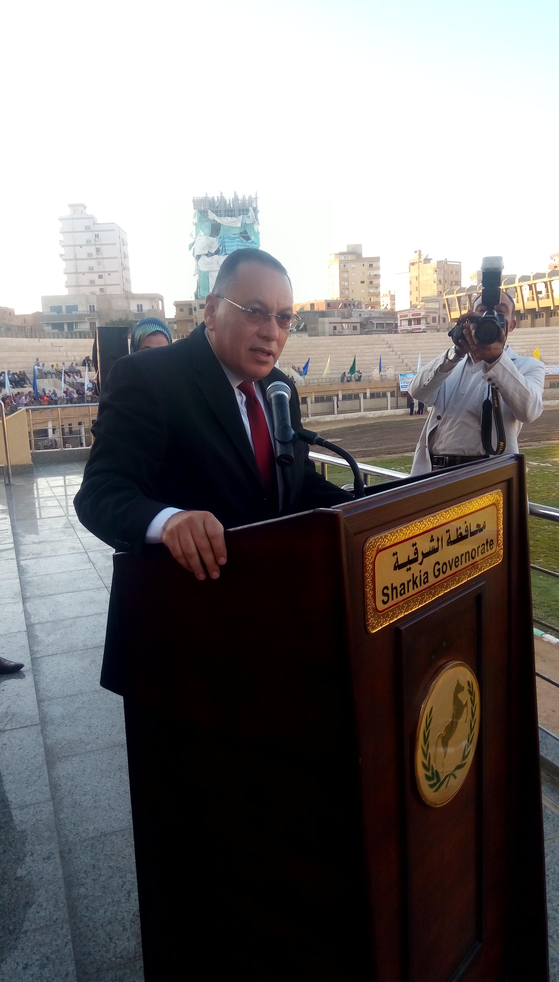 احتفالية محافظة الشرقية بالعيد القومى (1)