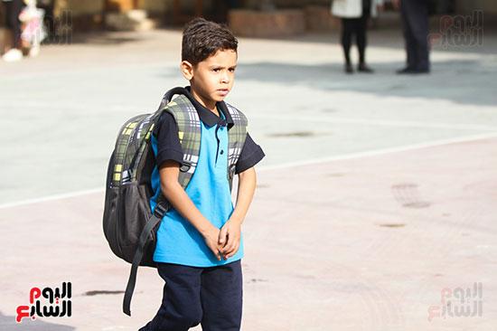 توافد التلاميذ على المدارس (5)